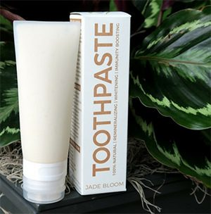 jade bloom toothpaste