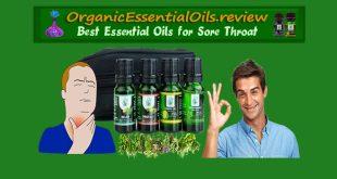 essential oils for sore throat
