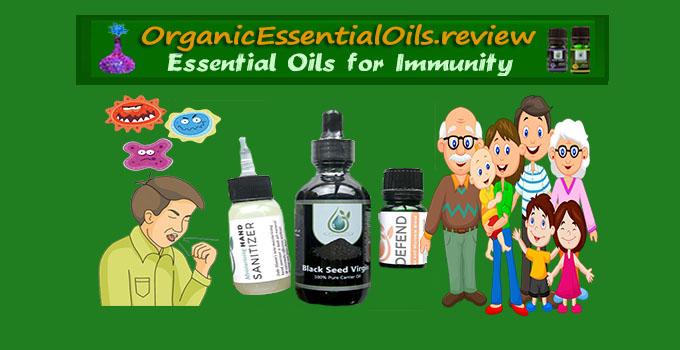 essential oils for immune system